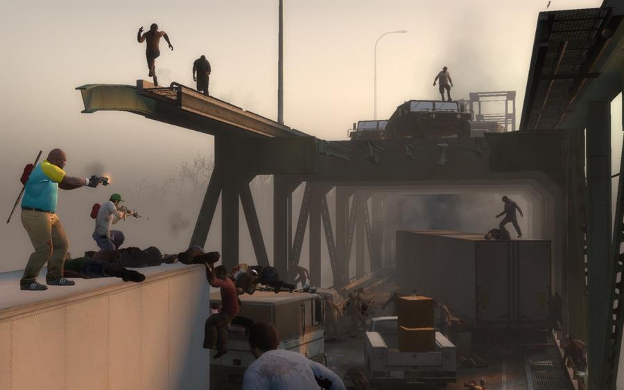 Смотрим за действием загрузки. . Скачать игру Left 4 Dead 2 безвозмездно ч