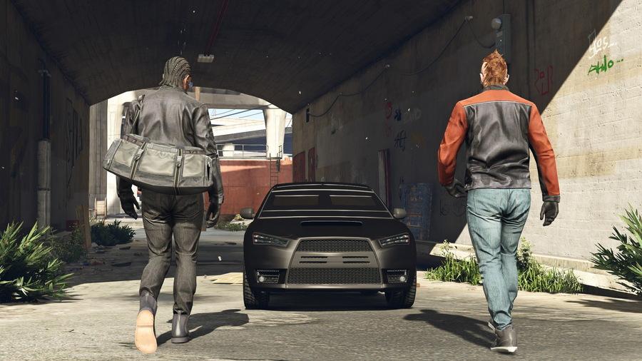 Скриншот GTA Online - Heist