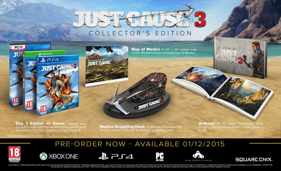 Коллекционное издание Just Cause 3