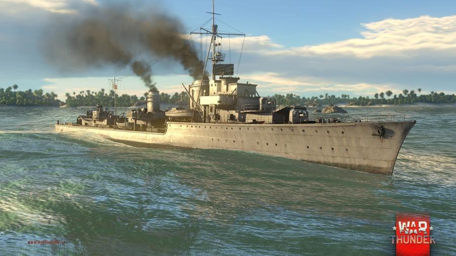 war thunder эсминцы