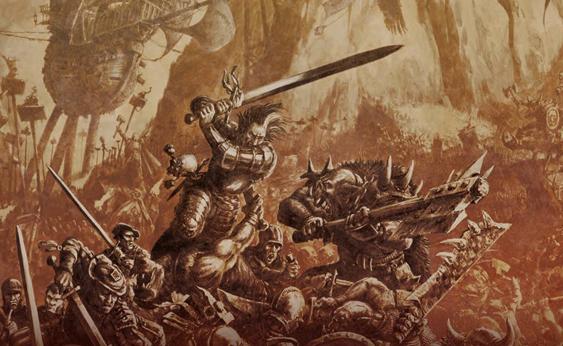 Повселенной Warhammer Fantasy сделают hack and slash игру