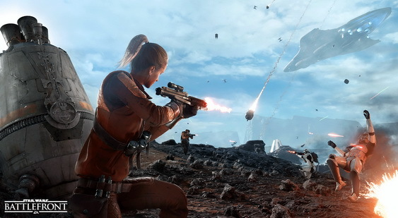 Star Wars Battlefront Beta скриншот