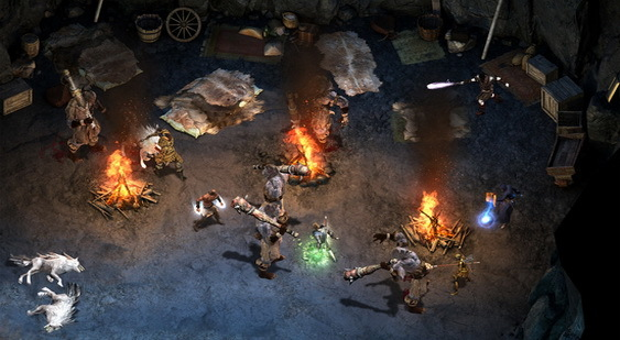 Pillars of Eternity скриншот