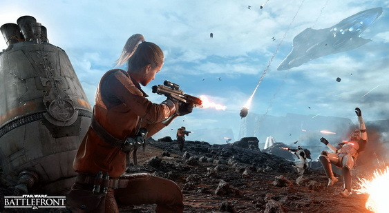 Star Wars Battlefront скриншот