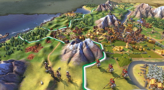 Sid Meier's Civilization 6 скриншот