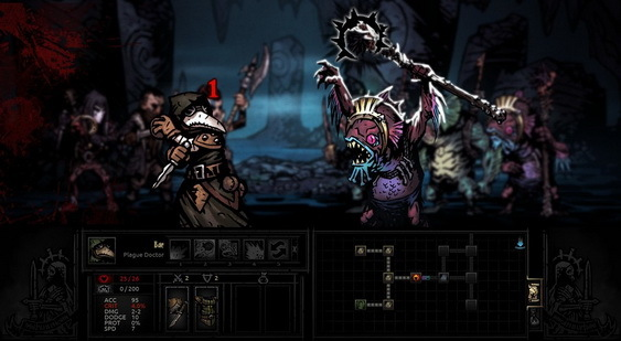 Darkest Dungeon скриншот