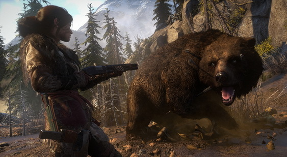 Rise of the Tomb Raider скриншот