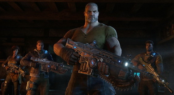 Gears of War 4 скриншот