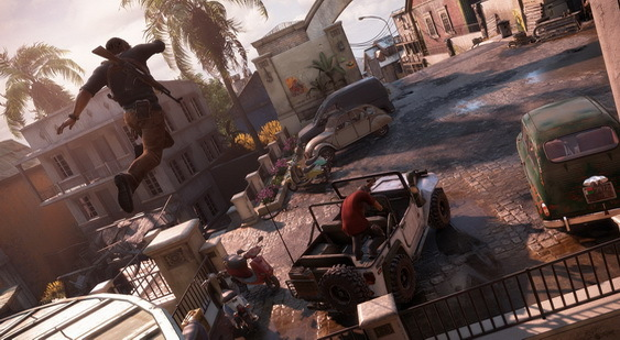 Uncharted 4: A Thief`s End скриншот