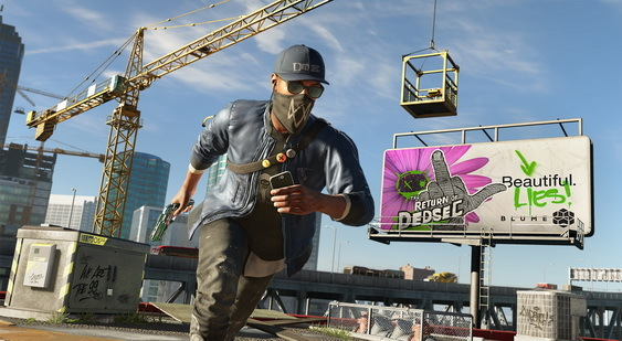 Watch Dogs 2 скриншот
