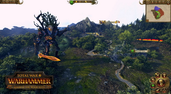Total War: Warhammer - Realm of The Wood Elves скриншот