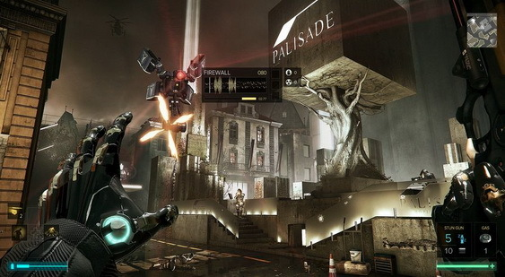 Deus Ex: Mankind Divided скриншот