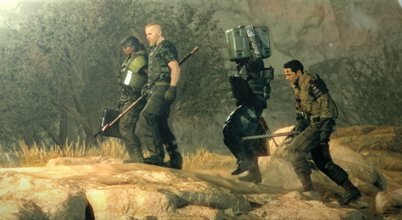 Metal Gear Survive скриншот
