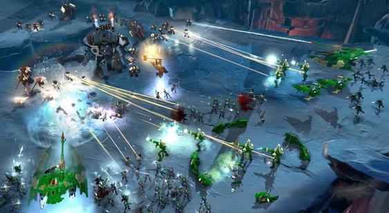 Warhammer 40000: Dawn of War 3 скриншот
