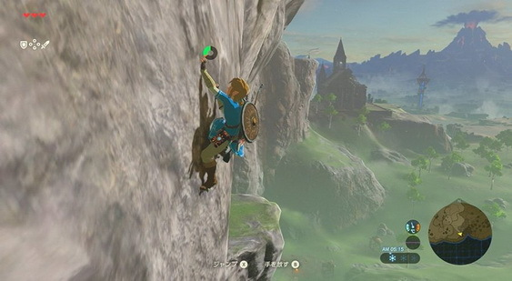 The Legend of Zelda: Breath of the Wild скриншот