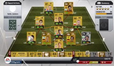 Screens Zimmer 9 angezeig: fifa 13 ultimate