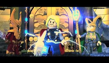 Свежее видео lego marvel super heroes