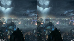 Видео сравнения Batman: Arkham Knight - PS4 vs Xbox One - графика