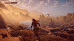 Геймплей Horizon Zero Dawn на PS4 Pro в 4K