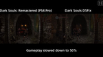 Видео Dark Souls Remastered - PS4 Pro vs PC (DSFix)