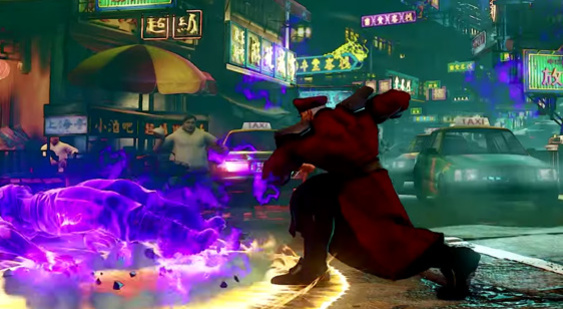 Трейлер Street Fighter 5 - M. Bison