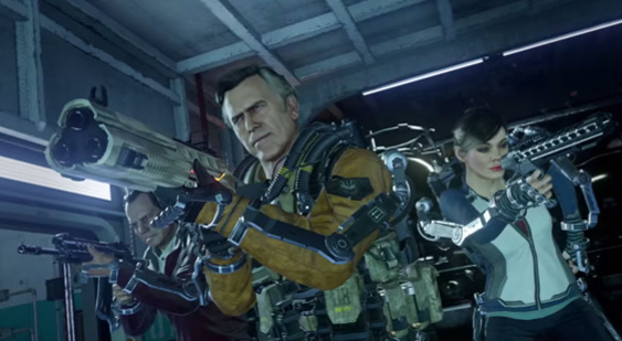 Трейлер Call of Duty: Advanced Warfare - Exo Zombies Carrier
