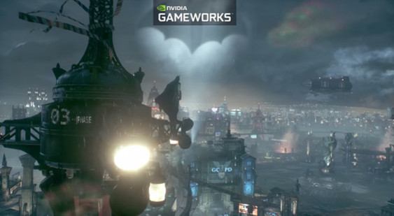 Трейлер Batman: Arkham Knight - Nvidia GameWorks