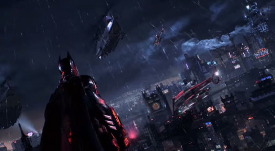ТВ-реклама Batman: Arkham Knight