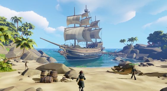 Видео Sea of Thieves с E3 2015