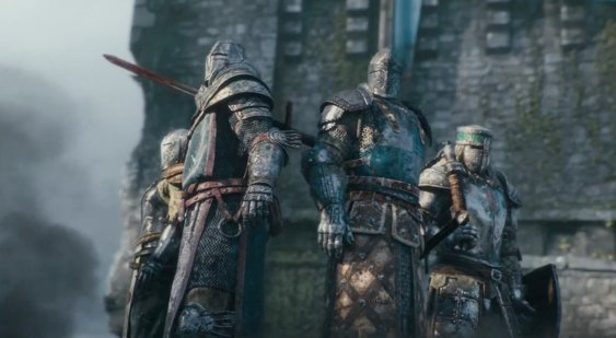 CG-трейлер анонса For Honor