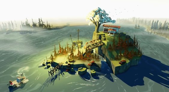 Трейлер The Flame in the Flood с E3 2015