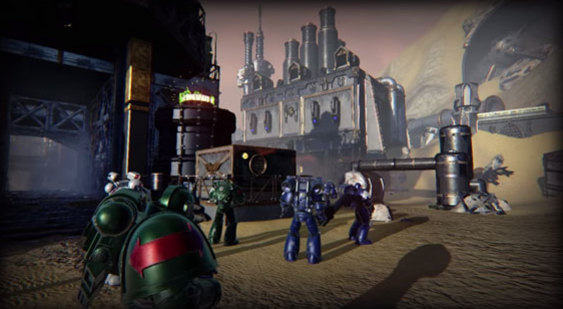 Видео Warhammer 40000: Eternal Crusade на Unreal Engine 4