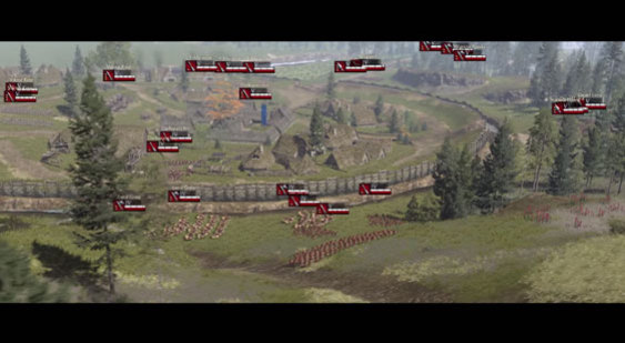 Видео Total War: Arena - карта Germania
