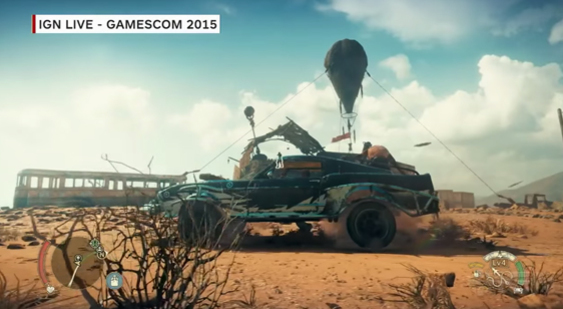 Демонстрация Mad Max - Gamescom 2015