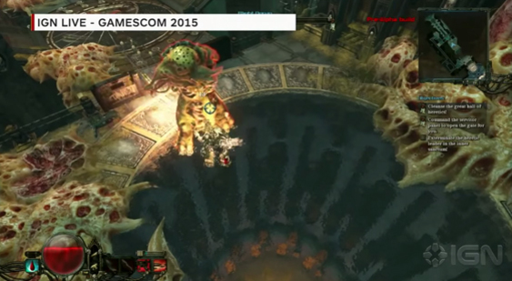 Геймплей Warhammer 40,000: Inquisitor - Martyr с Gamescom 2015