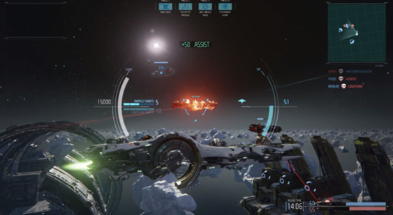 Трейлер Dreadnought - Gamescom 2015 - классы судов