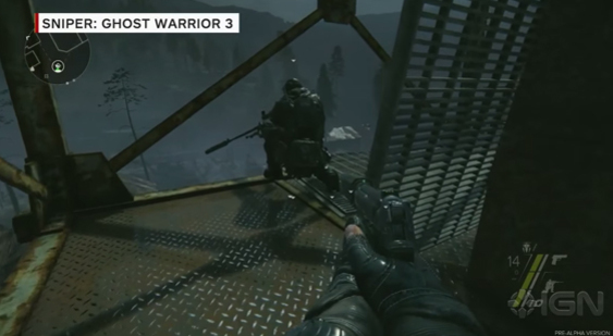 Геймплей Sniper: Ghost Warrior 3 с Gamescom 2015