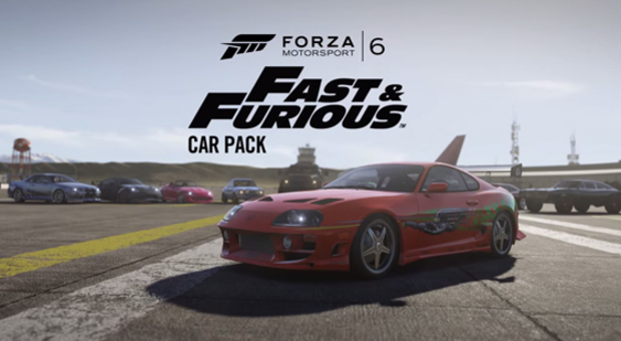 Трейлер Forza Motorsport 6 - DLC Fast & Furious Car Pack