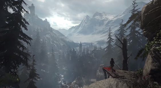 Трейлер Rise of the Tomb Raider - спуск в легенду
