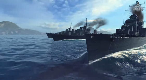 Трейлер World of Warships - эсминцы СССР