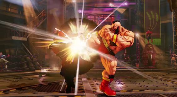 Трейлер Street Fighter 5 - Zangief