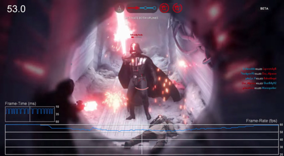 Видео бета-версии Star Wars: Battlefront - проверка fps на PS4