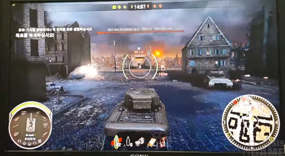 Геймплей PS4-версии World Of Tanks - G-Star 2015