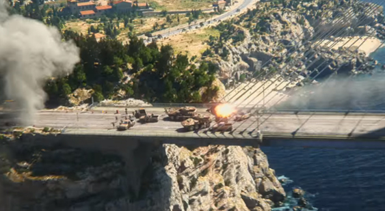 Трейлер Just Cause 3 - Kasabian