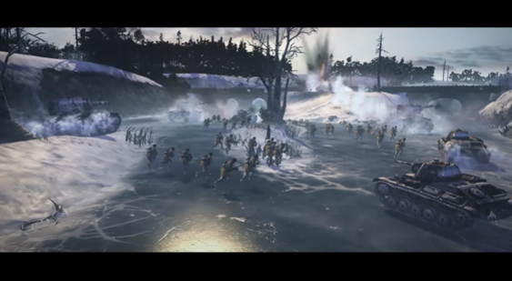 Трейлер издания Company of Heroes 2: Master Collection