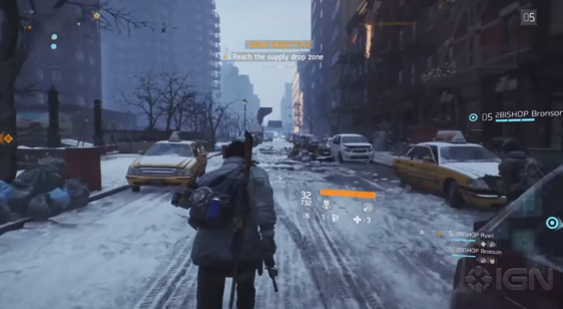 Видео Tom Clancy's The Division - побочная миссия Supply Drop Recovery