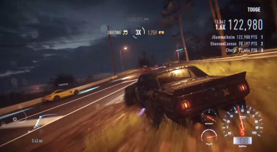 Трейлер Need for Speed - игра доступна подписчикам Origin Access