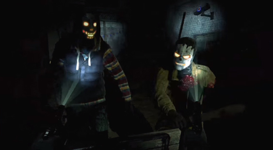 Геймплей Until Dawn: Rush of Blood - GDC 2016