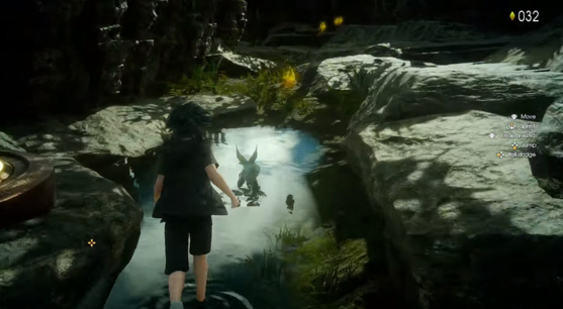 Трейлер Final Fantasy 15 - Platinum Demo