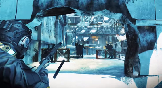 Трейлер Umbrella Corps - карта Antarctic Base